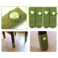 chair leg pads. table chair leg cover socks furniture floor protectors:random color/1 set pads d