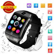 2018 Best Bluetooth Android Smart Watch Touch Screen Larger LED Fitness Tracker Mobile Cell Phone Smartwatch for Men Smat