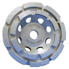 diamond grinder disc. double row diamond cup wheel grinder disc home depot