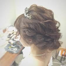 Weddinghair ウェディングヘア 逆サイド ウェーブシニヨンstyle