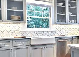 Mosaic Backsplash Tiles White Ceramic Arabesque Mosaic Tile Com Unique Kitchen Backsplash Installation Cost Property