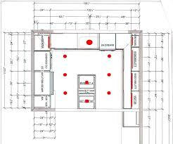 kitchen lighting plans. Kitchen Lighting Layout Impressive With Regard To . Plans