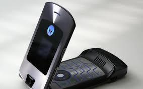 motorola flip phone. motorola denies return of iconic razr flip phone
