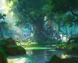 Get 4K Wallpaper Anime Landscape Images ...