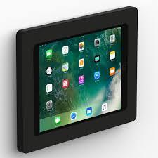 fixed slim vesa wall mount ipad 10 5 inch ipad pro black isometric