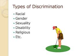 discrimination definition research paper a definition essay  4 types of discrimination racial gender sexuality disability religious etc