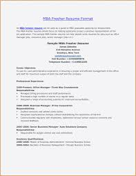 Mba Candidate Resume Pleasant Mba Resume Template Best Inspirierende