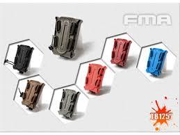 red triangle with kangaroo logo fma soft s scorpion mag carrier bk de fg od bl