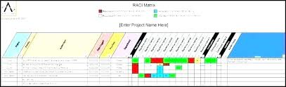 Free Template Excel Chart Excel Responsibility Assignment Free