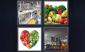 4 pics 1 word ve ables shape heart city factory power plant