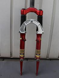 marzocchi dh3 fork red full rebuild
