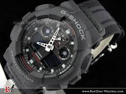 buy casio g shock military cloth analog digital men watch ga 100mc casio g shock military cloth analog digital men watch ga 100mc 1a