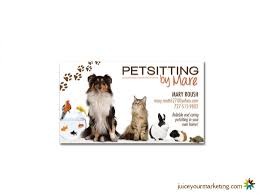Pet Sitter Business Cards Pet Sitting Business Cards Examples Useful Rockyrama Info Juice