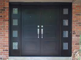 black front door handles. Big Black Wooden Modern Entry Doors With Steel Handle Plus Front Door Handles E
