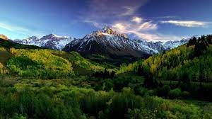 Colorado Mountains On Spring Morning Hd ...