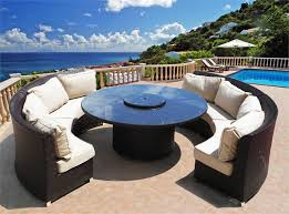 round patio furniture round patio dining sets wicker patio furniture round marvellous round