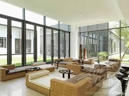 modern sunroom furniture. Perfect Furniture SuperStock  Wicker Furniture In Large Modern Sunroom On Modern Sunroom Furniture I