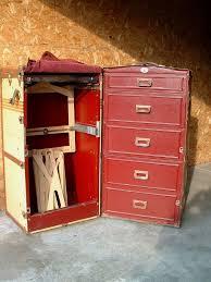 antique vine oshkosh steamer wardrobe trunk luge no keys incl steamertrunkwardrobe yalelockdaleny