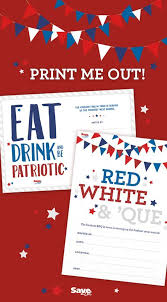 save a lot barbecue invitations celebrate the 4th of july with these free