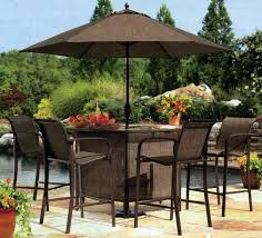 Stylish Patio Bar Chairs Sets Bar Height Outdoor Patio Bar Table And