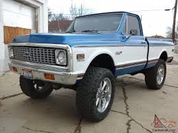 1972 Chevy Cheyenne Super 10, 454, big block, 4x4, frame off ...