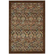 graphic illusions chocolate 8 ft x 11 ft area rug