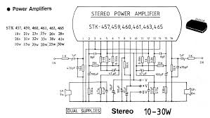 audio power amplifier circuit diagrams circuit schematics 10 30 watt stereo audio amplifier circuit