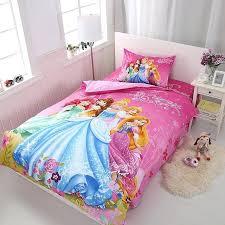 girls duvet covers cartoon princess kids girls bedding set duvet cover bed sheet pillow cases twin