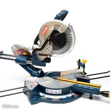 miter saw labeled. sliding miter saw review: ryobi labeled