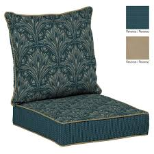 great dark navy outdoor patio chair cushions for wooden armchair patio conversation set best combined with