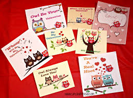 owl valentine s day cards to print. Exellent Valentine Owl Valentines Day Cards To Valentine S Print A