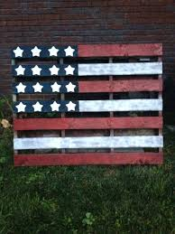 american flag wood rustic distressed flag painting