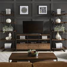Shop Corey Rustic Brown 3Piece Entertainment Center By INSPIRE Q Modern   On Sale Free Shipping Today Overstockcom 19531590 Rustic Entertainment Center W35