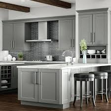 kitchen with gray cabinets and butcher block counters john boos cutting boards kitchen contemporary
