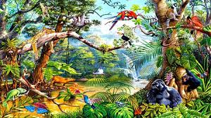 jungle animal background. Beautiful Background In The Jungle  Other Animals Background Wallpapers On Desktop Inside Animal M