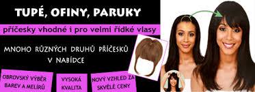 Tupé Ofinky Paruky Vlasy Incz