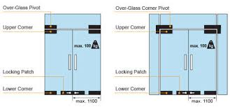 glass door patch options 1 and 2