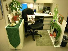 office cubicle decoration themes.  Decoration Cubicle Decoration Themes Chic Small Home Office Green  Theme Used Leather Black Chair Design Throughout Office Cubicle Decoration Themes E