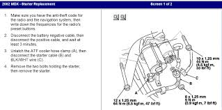 2002 acura mdx wiring harness not factory and starter new one graphic graphic