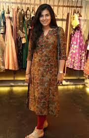 Kalamkari Churidar Neck Designs For Stitching Nupur Arun Kalamkari Dresses Kurti Sleeves Design Salwar