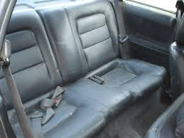 ugh right just gross i mean yeah leather but still disgusting mess lots of room for improvement and really it s not even drivable anyway