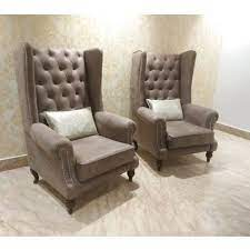 back leather sofa chair