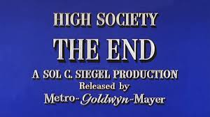 Image result for High Society 1956 The End