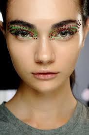 high fashion fierce eye makeup makeup guru pat mcgrath went all glam with the makeup looks