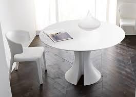 diy white round dining table