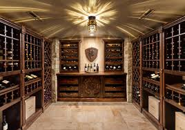 Basement Renovation traditional-wine-cellar