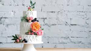 Three Tier Fruit Wedding Cake Baking Mad
