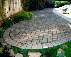 Lowes Patio Stones Stones For Patios Cool Round Patio Stones With