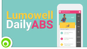 daily abs fitness workout lumowell android and apple ios app