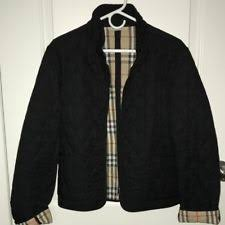 Burberry Quilted Jackets   eBay & Burberry Black Quilted Jacket Women Size 24 Adamdwight.com